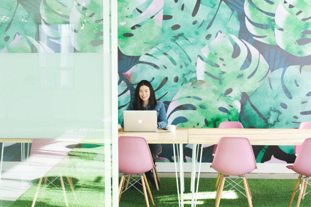 leaf-mural-office-space